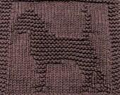 Knitting Cloth Pattern  -  BEAGLE - PDF
