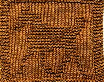 Knitting Cloth Pattern - COLT - PDF