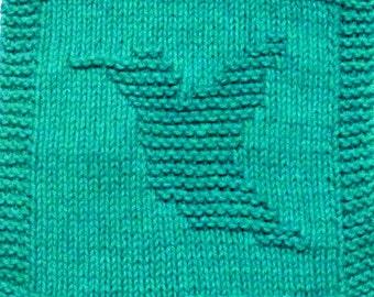 Knitting Pattern    Hummingbird   PDF - Instant Download