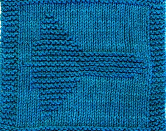 Knitting Cloth Pattern - SPACE SHUTTLE - PDF