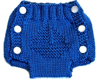 SAILBOAT - Diaper Cover Knitting Pattern - PDF - Small