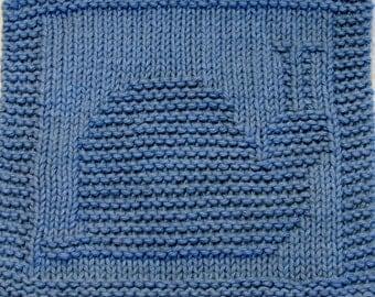 Knitting Cloth Patterh - SNAIL - PDF