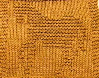 Knitting  Cloth Pattern  -  SHOW HORSE - PDF