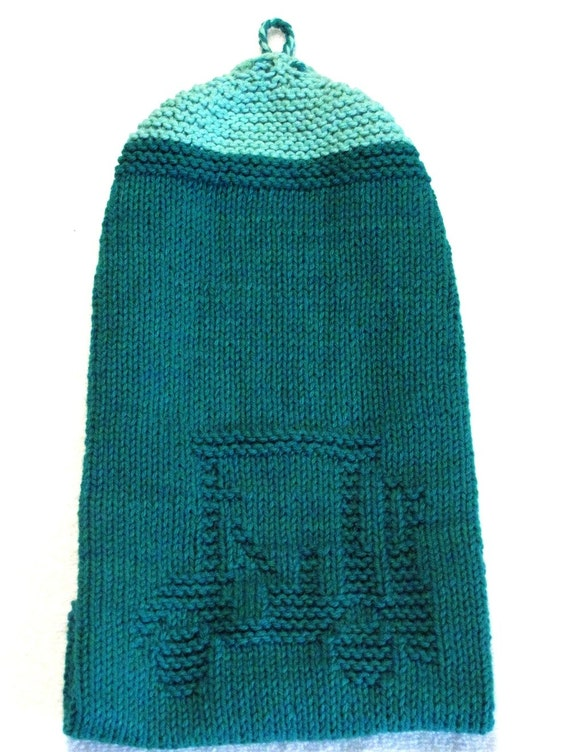 Knitting Pattern Hand Towel GOLF CART PDF by ezcareknits
