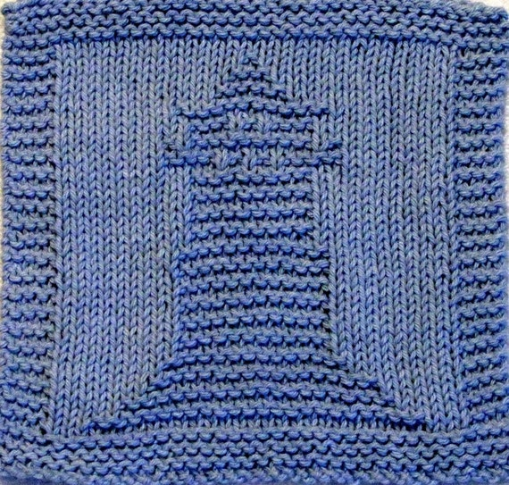 Knitted Tablecloth Patterns : Knitting Cloth Pattern LIGHTHOUSE PDF