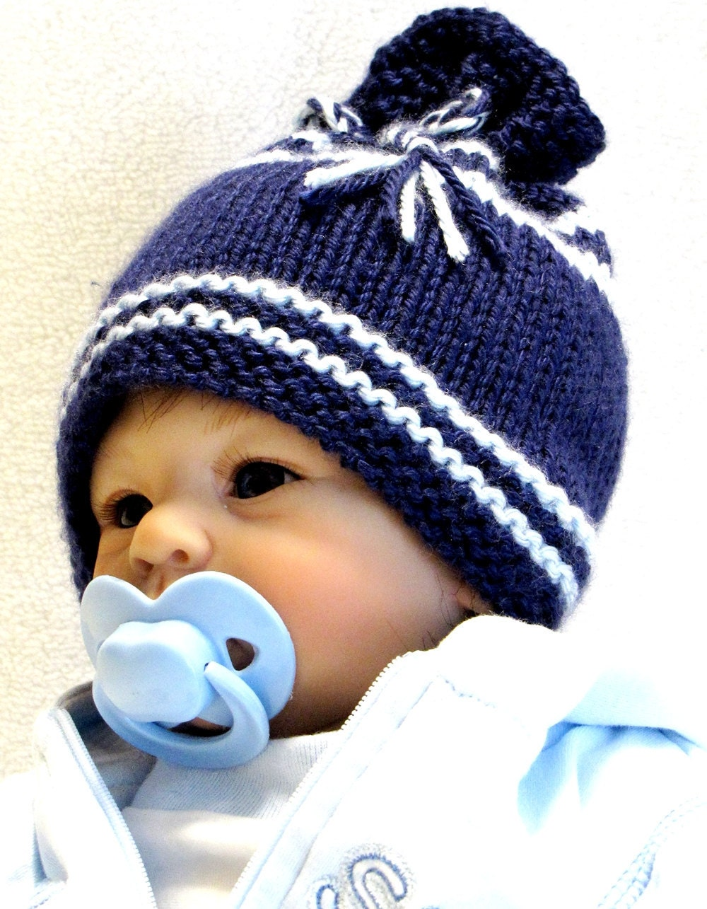 KNITTING PATTERN Newborn EZ Knit Baby Hat Pattern Great