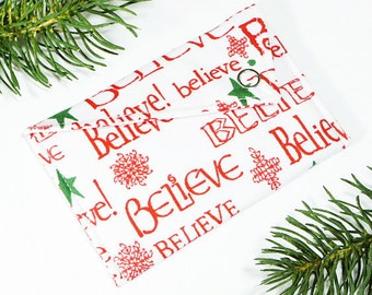 Gift Card Holder - Believe in Christmas