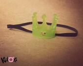Qpot crown clear green