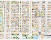 Harlem Poster Map