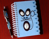 Notebook Journal Blue Mouse
