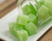Eucalyptus Peppermint Sugar Scrub Cubes Sinus relief