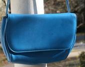 Electric Blue Vintage  Purse