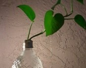 Recycled Crystal Light Bulb