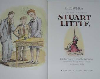 Children's Books, Stuart Little, E.B. White, Art by Garth Williams. 1973, 1st Edition, Books, Fiction, Old Books, Art Books,