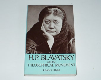 H.P. Blavatsky Theosophical Movement 1975, Books Movies Music, Books, Religion & Spirituality, Philosophy, Vintage books