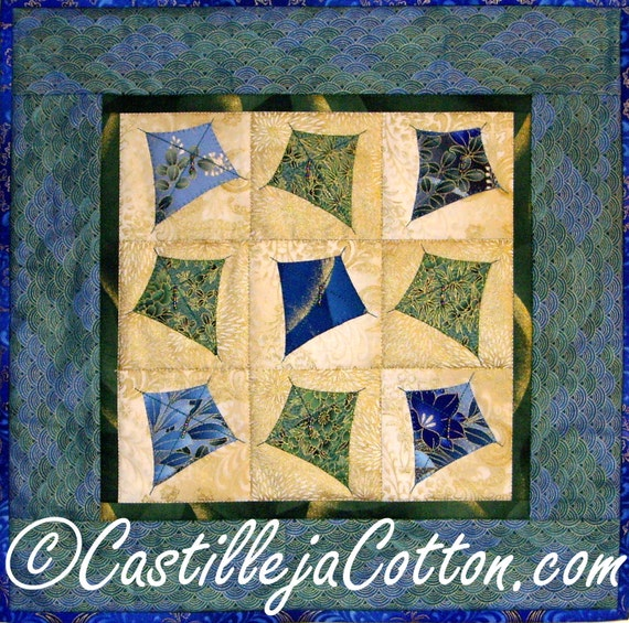 Reserved for Karen, Kite Quilted Wall Hanging - Dancing Kites Quilt