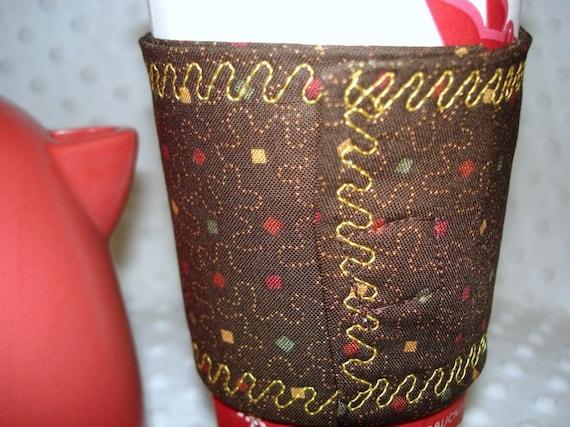Reuseable Coffee Cup Sleeve/Cozy