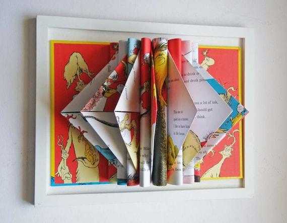 Dr. Seuss, Kid Room Decor, Nursery Artwork, Wall Art, Baby Gift
