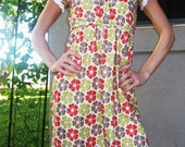 custom listing for Julie- Lady in the meadow dress size L