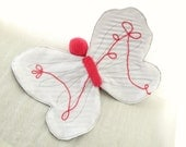 Baby Butterfly to cuddle - Pink & blue