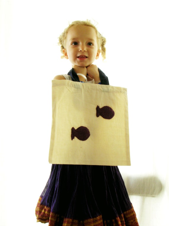 Cotton bag for kids - FREE SHIPPING