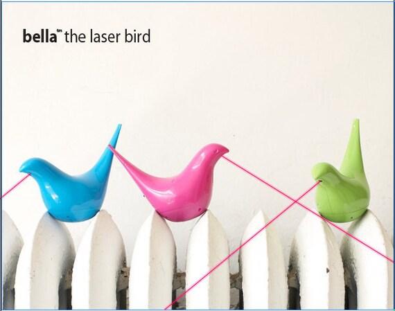 Bella the Laser Bird Cat Toy