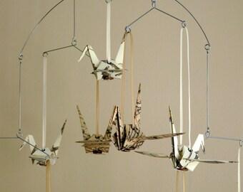 FÜR ELISE - Music Themed Origami Cranes - First Anniversary Gift or Wedding Garland