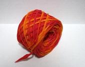 Hand Dyed T-shirt Yarn - 70 yards - 7 WPI - Bulky