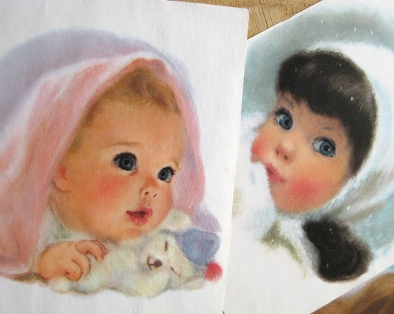 Northern Tissue  - Little Girls and Baby Prints - Charming and Nostalgic