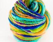 Printemps - single ply hand spun BFL yarn