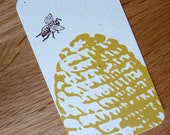 Mommy Cards - Beehive 2-sided Information Cards for exchanging with other moms - Set of 20