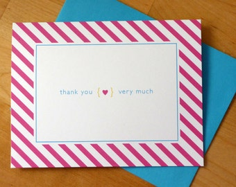 Thank You Notes / Set of 8