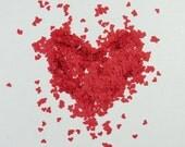 Confetti Hearts Small 1840 Pieces