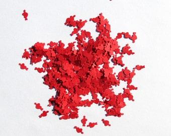 Confetti Hearts Arrows Red Wedding Love 1350 Pieces