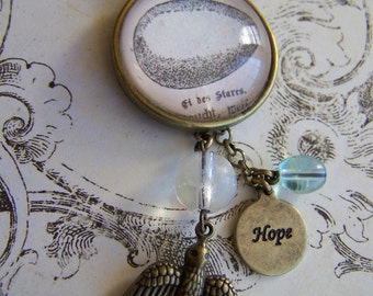 hope and egg necklace
