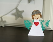 Paper and Clothespin Angel Patterns (PDF tutorial)