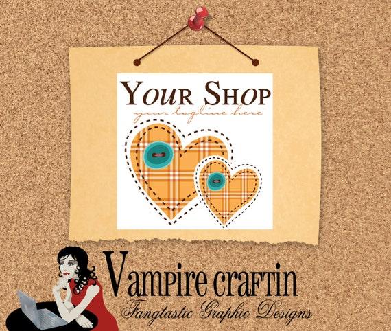 Love To Sew Etsy Shop Set, LOGO, and Facebook Timeline banner