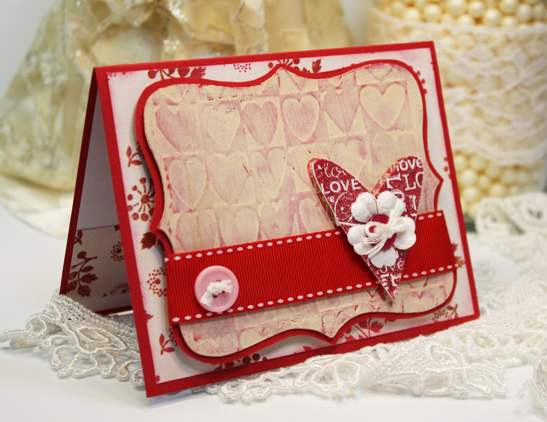 Handmade Valentine Cards – Valentines Handmade Card