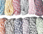 Divine Twine Bakers Twine - 12 Colors - 10 Yards each  - 120 Yard Sample Pack