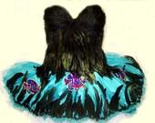 Ocean Aquarium Fairy Nymph Costume TUTU sz Sm/Med only one