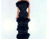 Knit Barbie gown