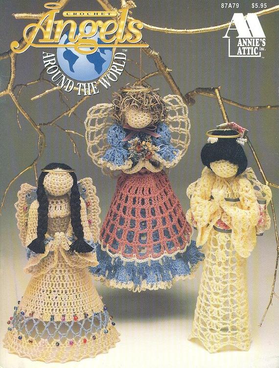 Annie S Attic Angels Around The World 1994 By