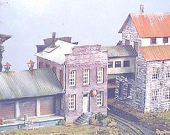 HO 1/87 Trains - Train Building Iron Works Kit - 5006