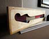 Guitar Neck Carved Wooden Art - Upcycled and Reclaimed Wood