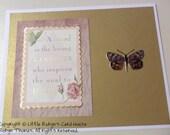 A Friend is the Gardener - Handmade Card