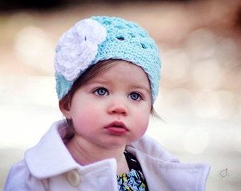 Girls Hat / Crochet Girls Hat / Hats For Girls / Girls Beanie / Newborn Girl Hat / Crochet Baby Hat / Baby Girl Hat / Toddler Girl Hat