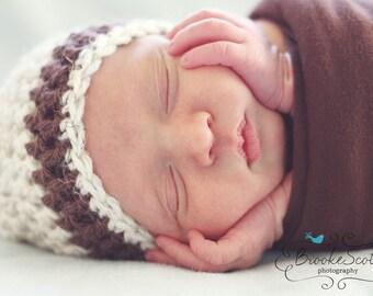 Newborn Boy Hat / Baby Boy Beanie / Baby Shower Gift Boy / Crochet Baby Hat / Baby Boy Hat / Newborn Beanie / Crochet Newborn Hat