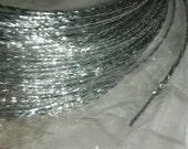 Silver Craft Wire Sparkling