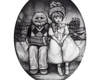 Sara y Joselito Friendship Print