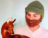 beard beanie GEEK CHIC adult size